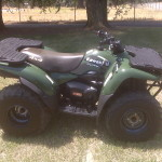 One of the 2 Kawi ATV's. Sold it to a friend.
