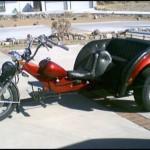 Bought this VW Trike in Bullhead City AZ